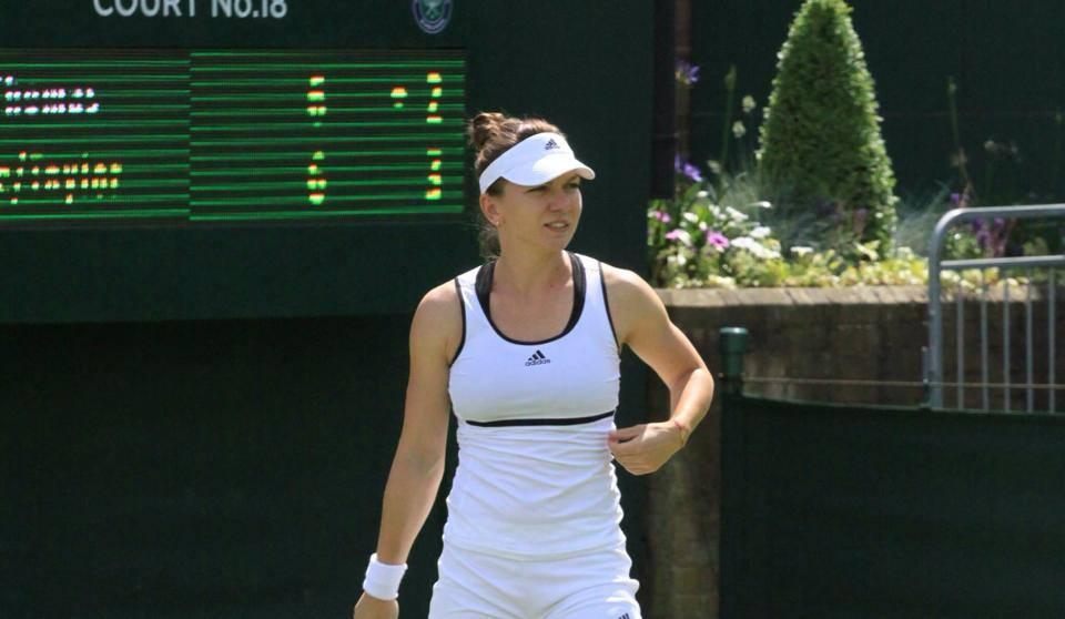 Simona Halep țintește un parcurs bun la Wimbledon 2018 (Facebook)