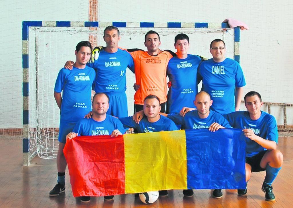 Naționala de fotbal a diabeticilor din România este din nou cea mai bună din Europa (libertatea.ro)