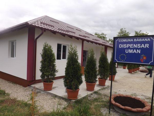 Dispensarul uman din Babana a fost ridicat de săteni (viatasatului.ro)