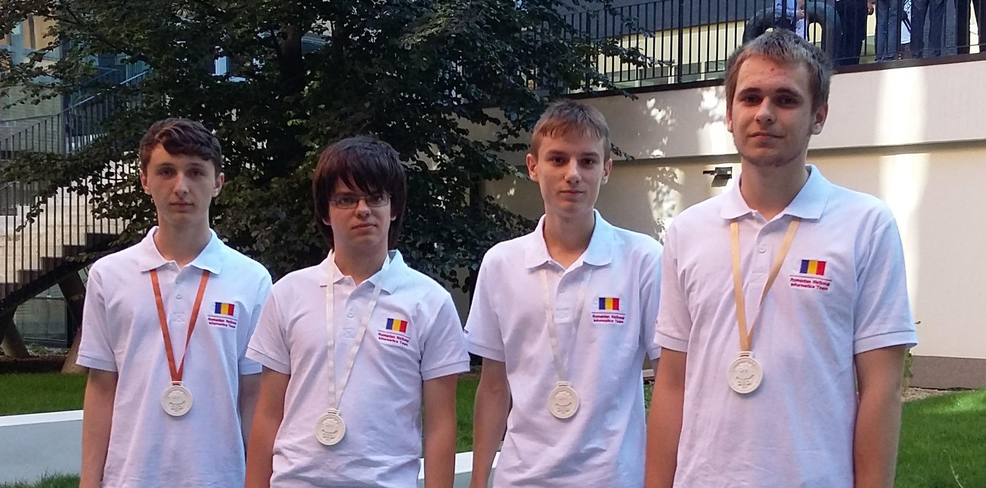 Olimpicii români au cucerit patru medalii la concursul de la Brno (edu.ro)