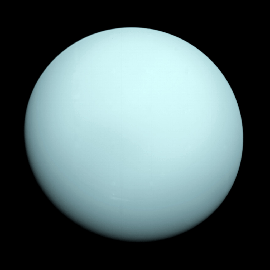 Planeta Uranus (NASA)