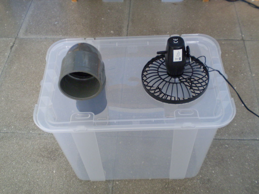 Așa arată un aparat de aer condiționat hand-made (instructables.com)
