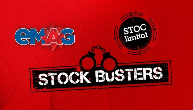 emag campanie reduceri stock busters