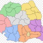Județele din România prezența la vot