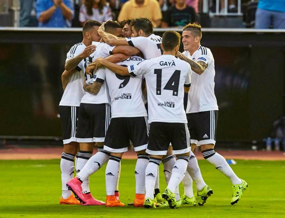 Din cele 32 de echipe prezente în grupele Ligii Campionilor, cinci sunt din Spania (Facebook Valencia CF)