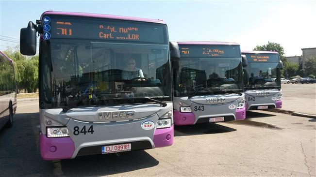 Cele zece autobuze noi ale Clujului au costat aproape zece milioane de lei (ziuadecj.ro)