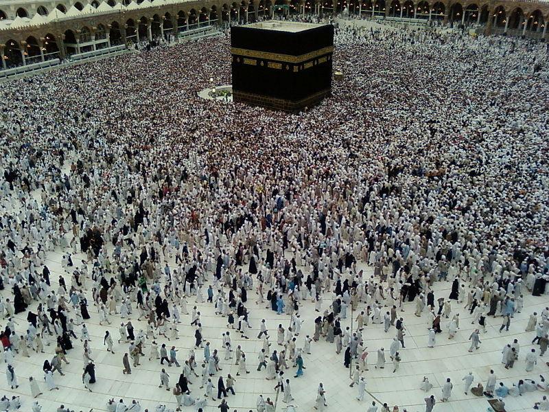 Mecca, locul cel mai sfânt al religiei islamice (Wikimedia Commons)