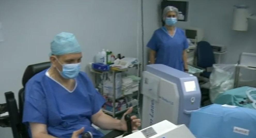 Sala de operații a doctorului Geavlete (Digi24)