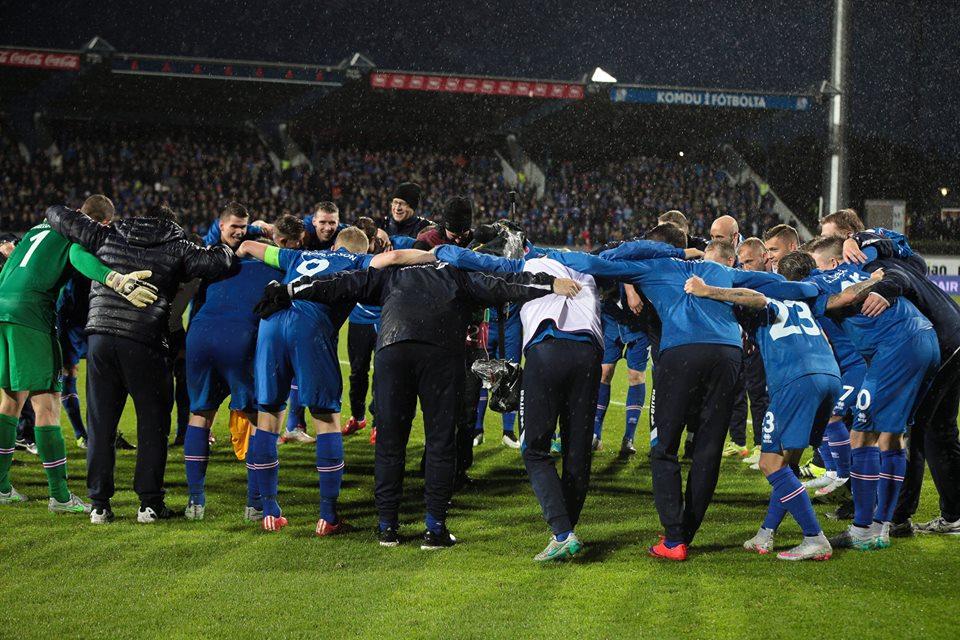 Islanda este marea surpriză a preliminariilor Euro 2016 (Knattspyrnusamband Íslands Facebook)