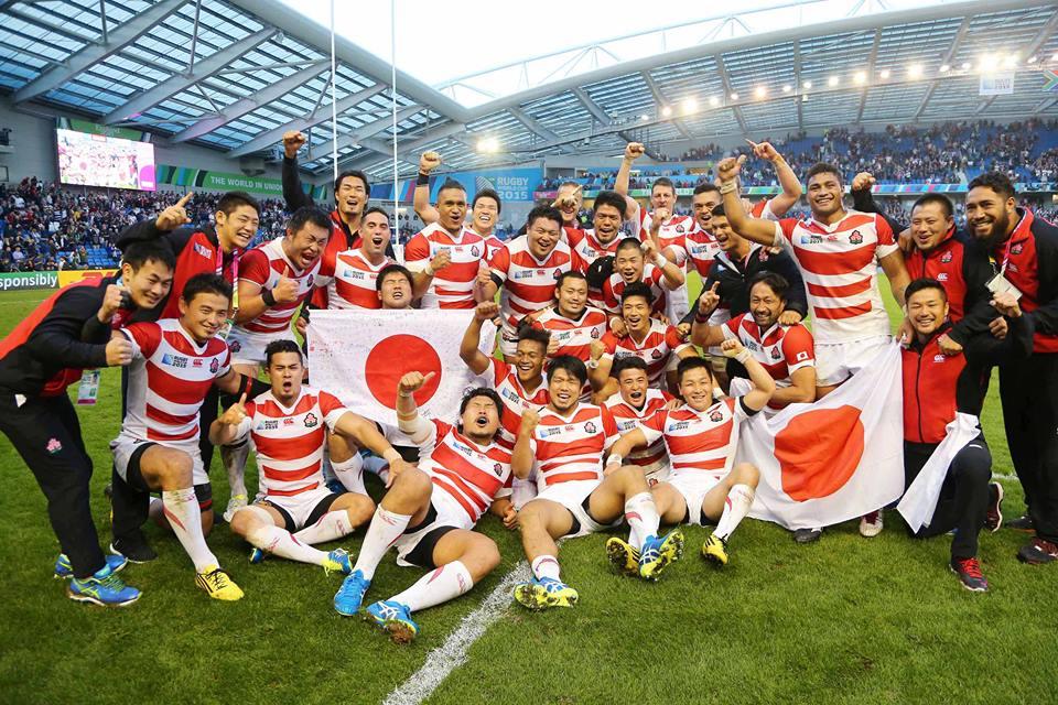 Japonezii au reușit imposibilul la Cupa Mondială de rugby (Facebook Naționala de Rugby a Japoniei)