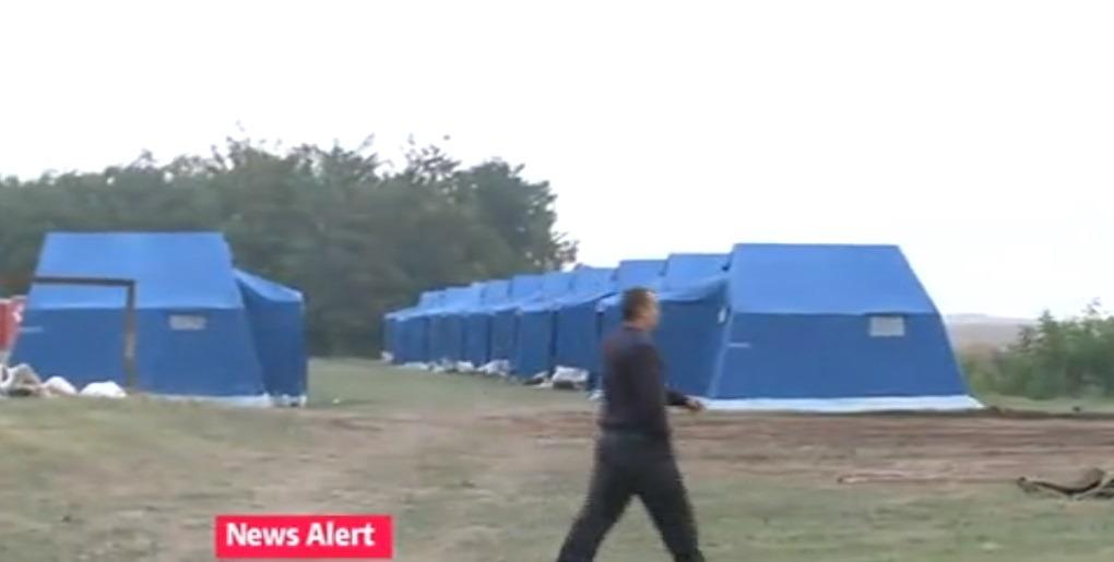 Așa arată primele corturi pentru refugiați din România (digi24.ro)