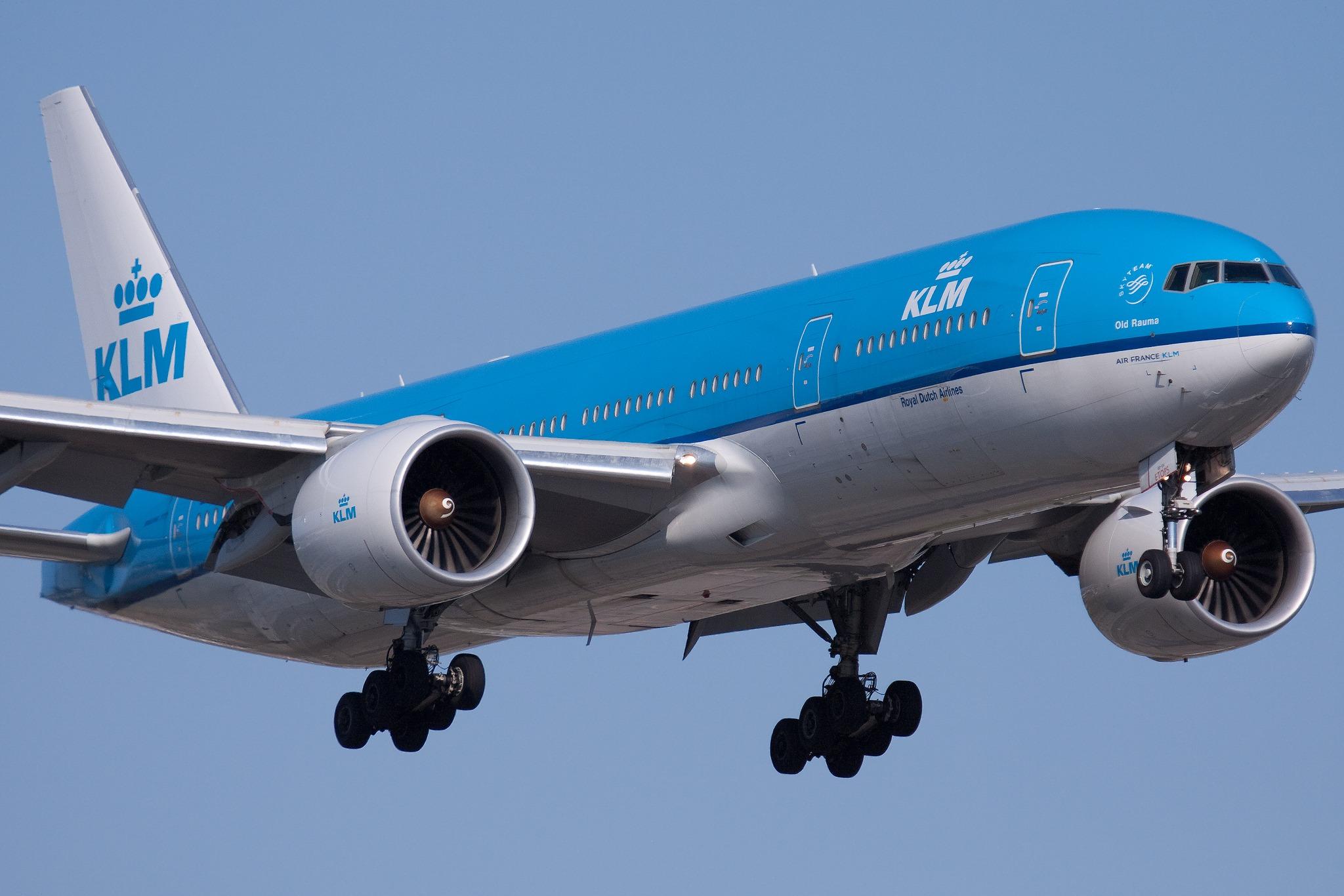 Tânărul nu va mai putea zbura timp de cinci ani cu compania KLM (Wikimedia Commons)