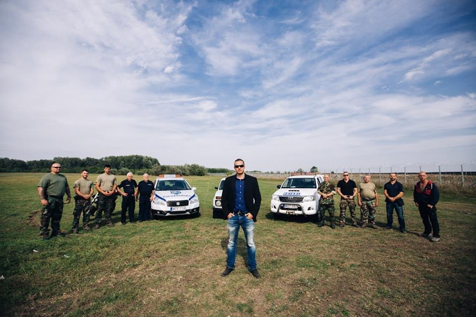 Primarul maghiar Laszlo Toroczkai le-a pus gând rău refugiaților (Facebook)