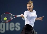 Simona Halep e obligată să câștige ultimul meci din Grupa Roșie pentru a se califica în semifinale (Facebook Simona Halep)