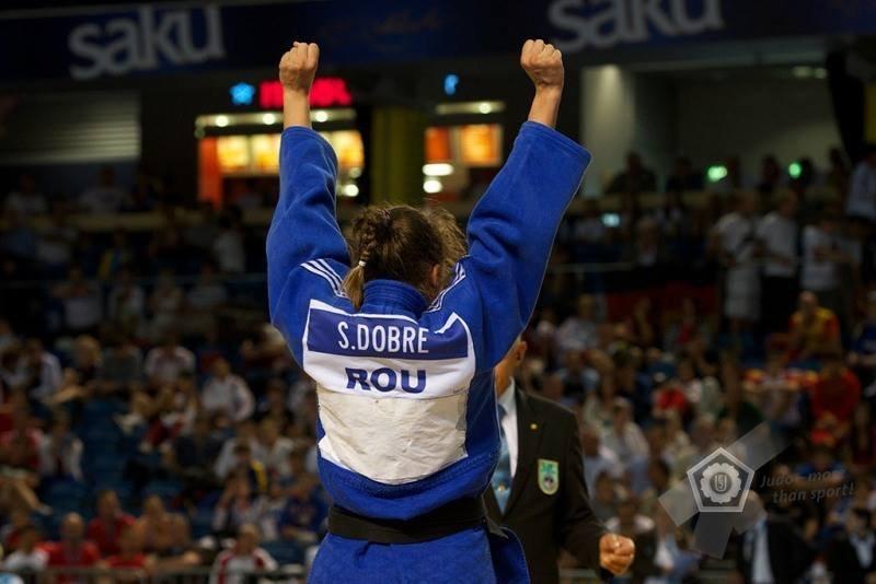 Ștefania Dobre este o mare speranță a sportului românesc (European Judo Union)