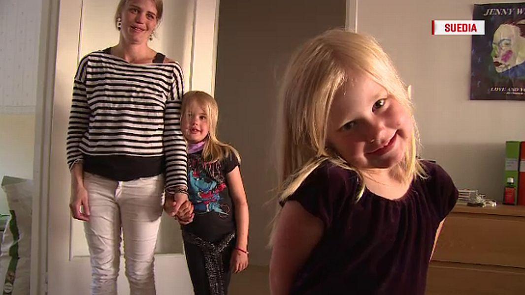 Moa și cele două fiice ale sale FOTO: caputură Știrile Pro TV