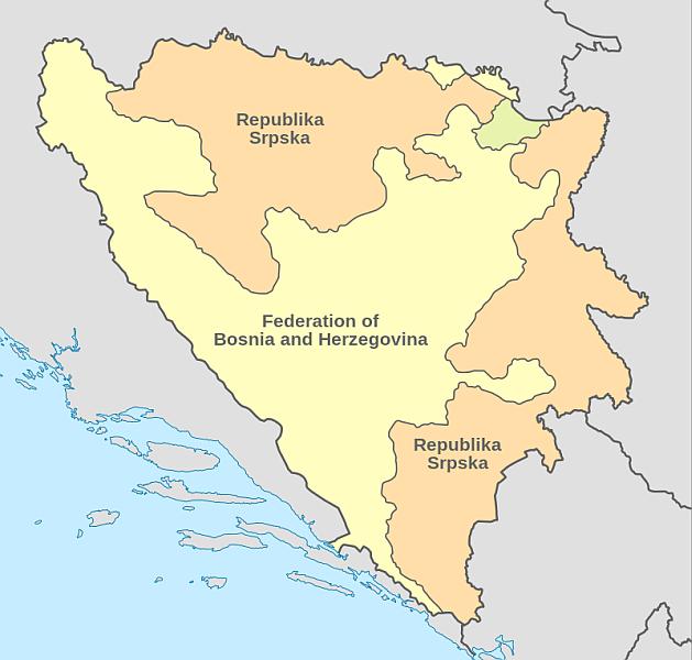 Bosnia-Herțegovina FOTO: Wikimedia Commons