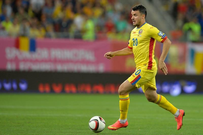 Constantin Budescu a marcat două goluri în victoria din Insulele Feroe (Facebook Echipa națională de fotbal a României)
