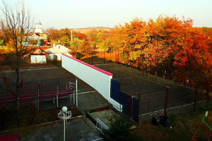 """Tabăra """"Codrii de Aramă"""" are mai multe terenuri de sport FOTO: MTS.RO"""