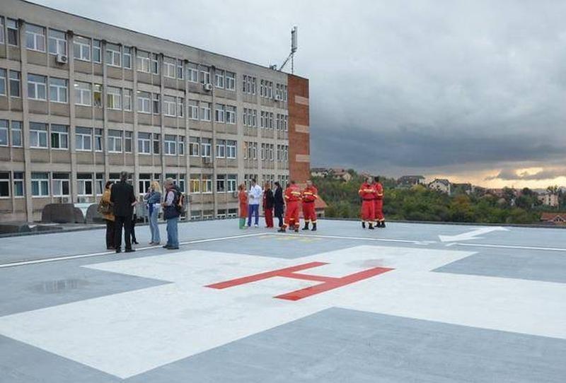 primul spital cu heliport pe acoperiș