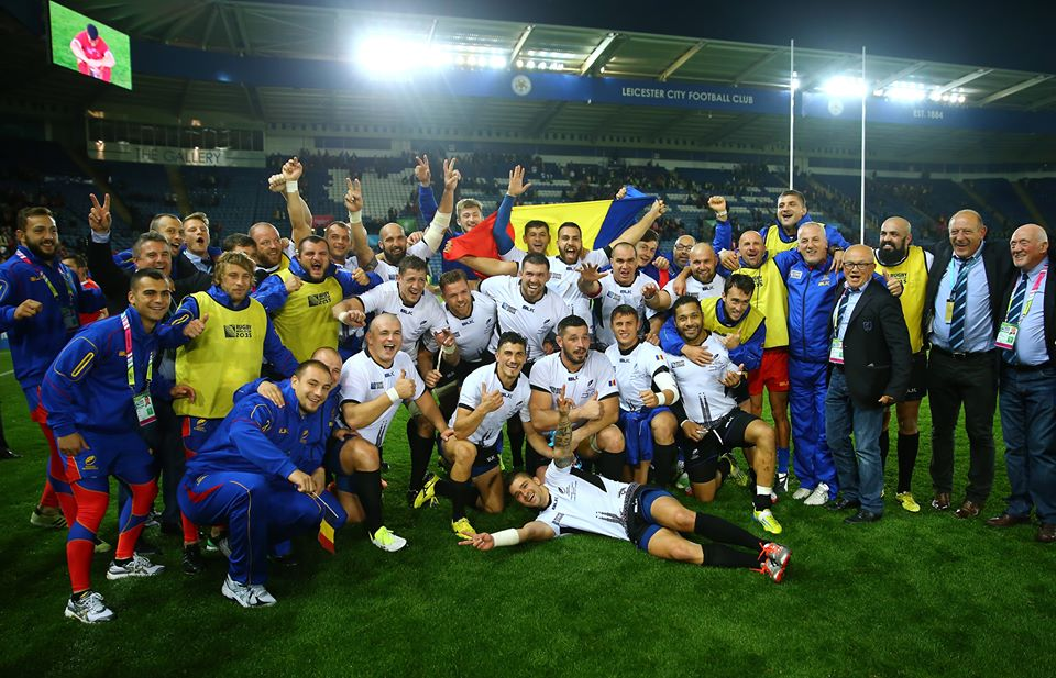 Rugbiștii români au revenit incredibil în meciul cu Canada (Facebook Rugby World Cup)
