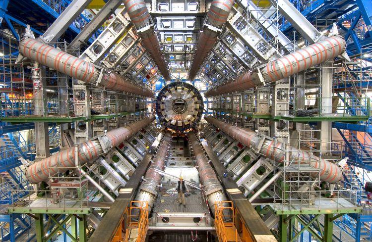 Large Hadron Collider, CERN. Foto: nasa.gov