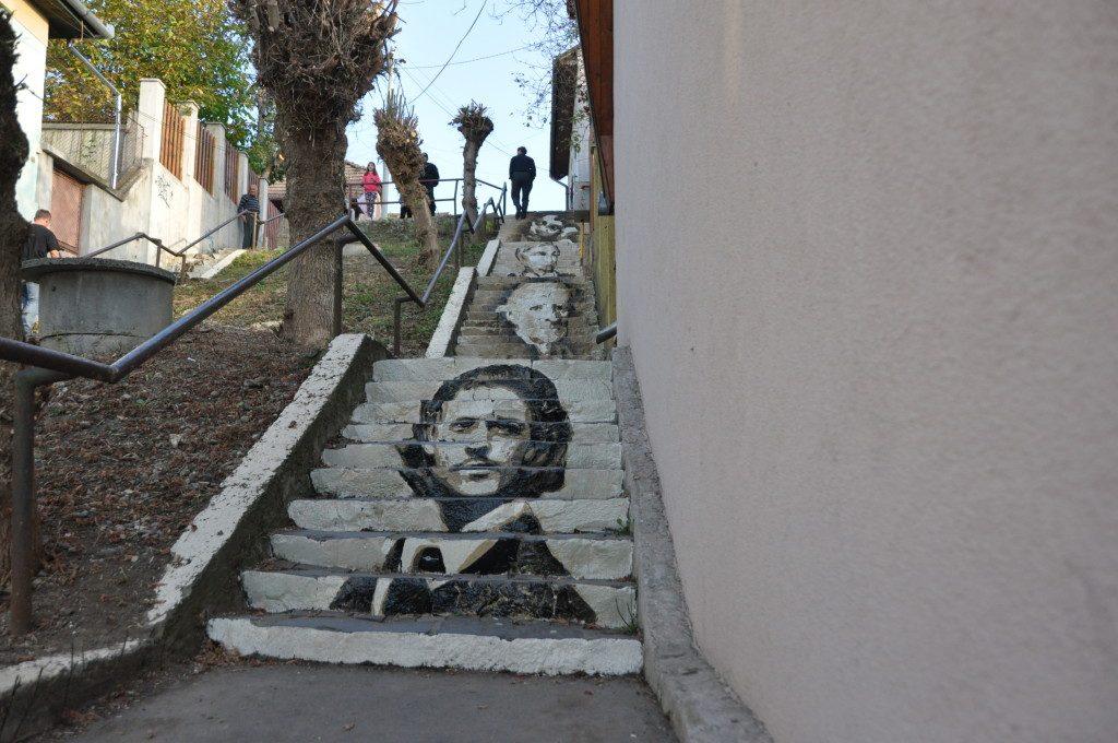 Scările de la Piatra de Moară, Târgu Mureș. Foto: cunoastelumea.ro