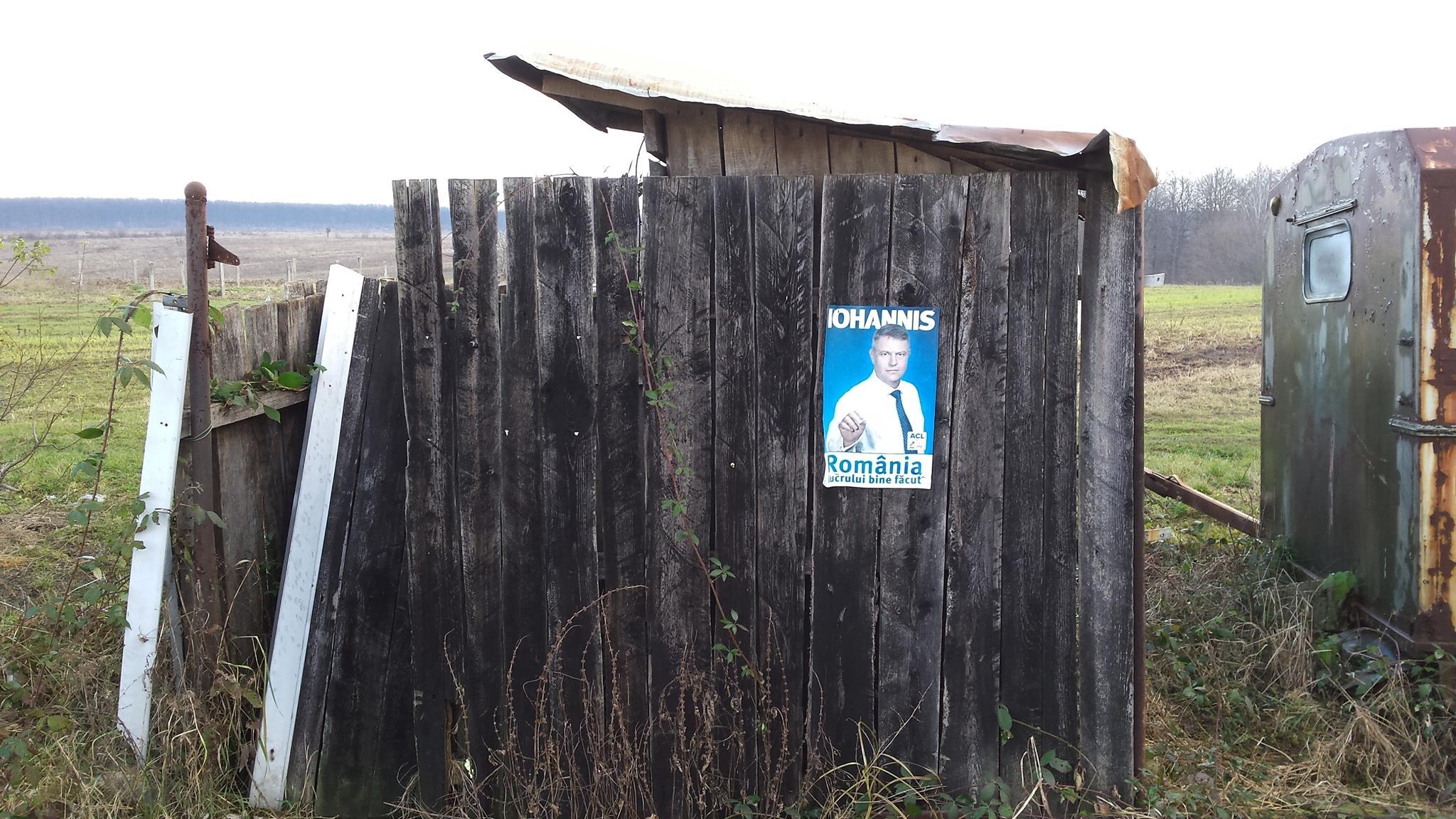 """O toaletă din România """"lucrului bine făcut"""", mai precis, din localitatea Budieni (Foto: Ionuț Fantaziu)"""