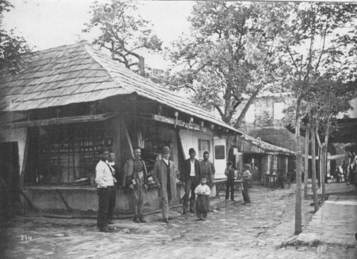 Bazarul din Ada Kaleh. Foto: Wikimedia Commons