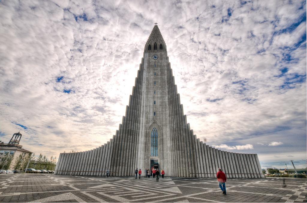 Biserică din capitala Islandei, Reykjavik (Wikimedia Commons)