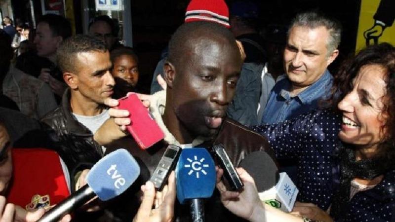 Senegalezul Ngame este unul dintre norocoșii sfârșitului de an (Captură Youtube)