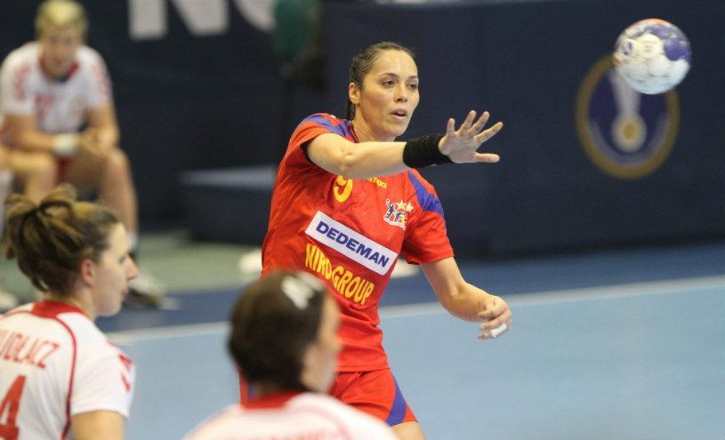Aurelia Brădeanu a strălucit în victoria României cu Brazilia (Facebook)