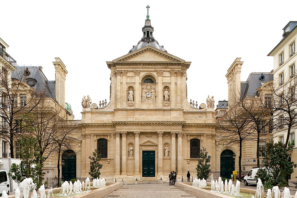Universitatea Sorbona, mândria educației superioare pariziene (Wikimedia Commons)
