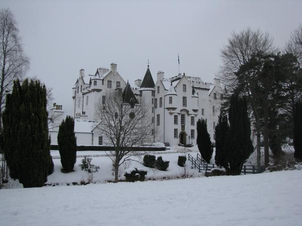 "Castelul Blair. Foto: ""Silver Skye Tours"" via Twitter"