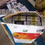 Contrabanda cu țigări (Facebook Poliția de Frontieră Română)