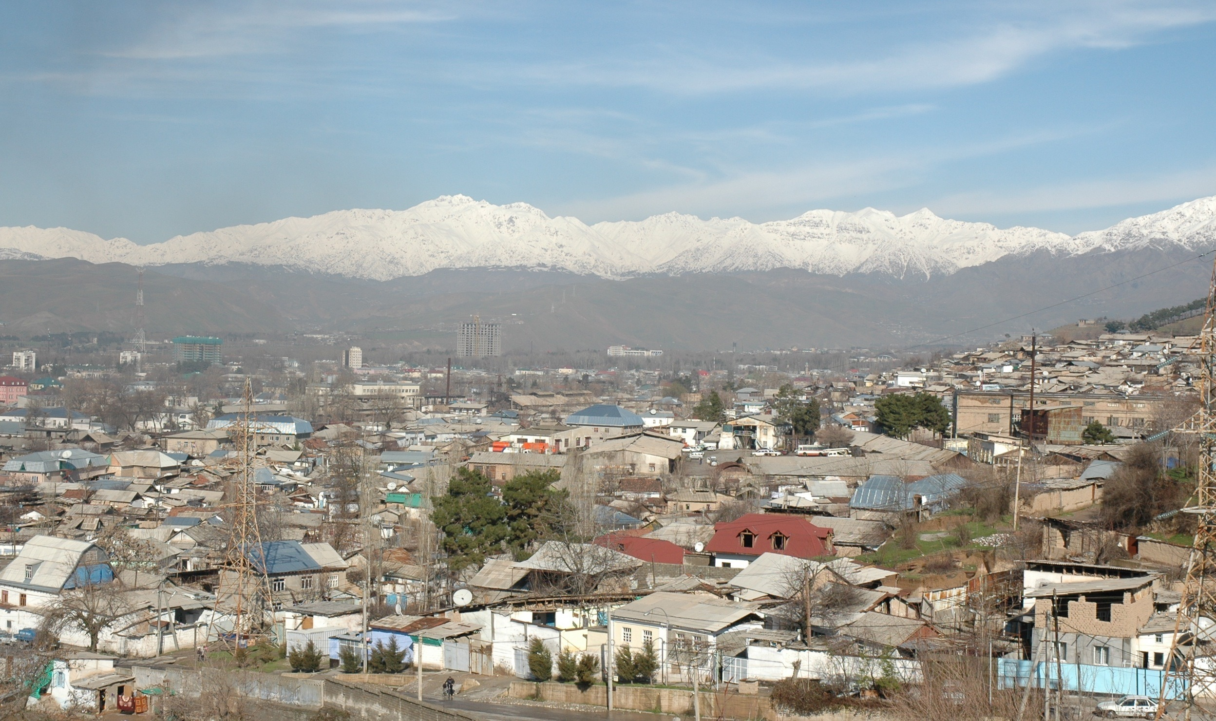 Dushanbe, capitala Tadjikistanului (Wikimedia Commons)