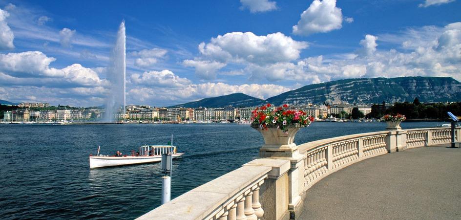 Geneva, Elveția (Wikimedia Commons)