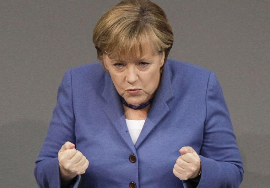Angela Merkel, cancelarul Germaniei (Wikimedia Commons)