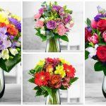 buchet de flori reusit modele