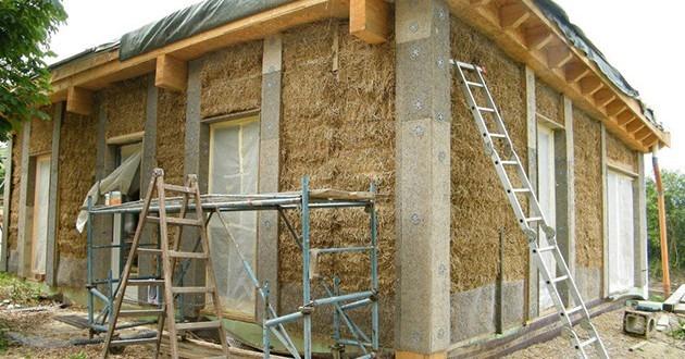 casa baloti faza constructie