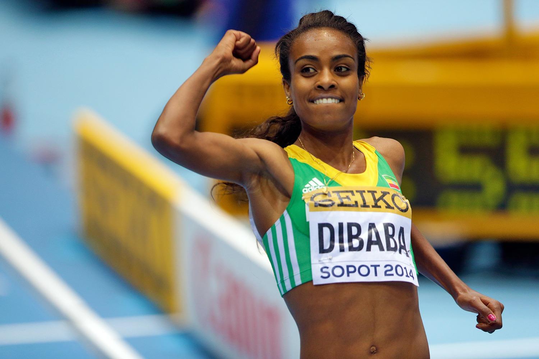 Genzebe Dibaba a doborât recordul Doinei Melinte (Wikimedia Commons)
