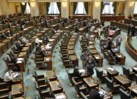 Senatorii vor să fumeze în Palatul Parlamentului (senat.ro)