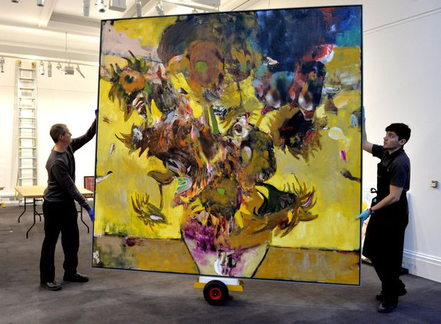 Tabloul pictorului român Adrian Ghenie a fost vândut pentru 4 milioane de euro (Sotherby's)
