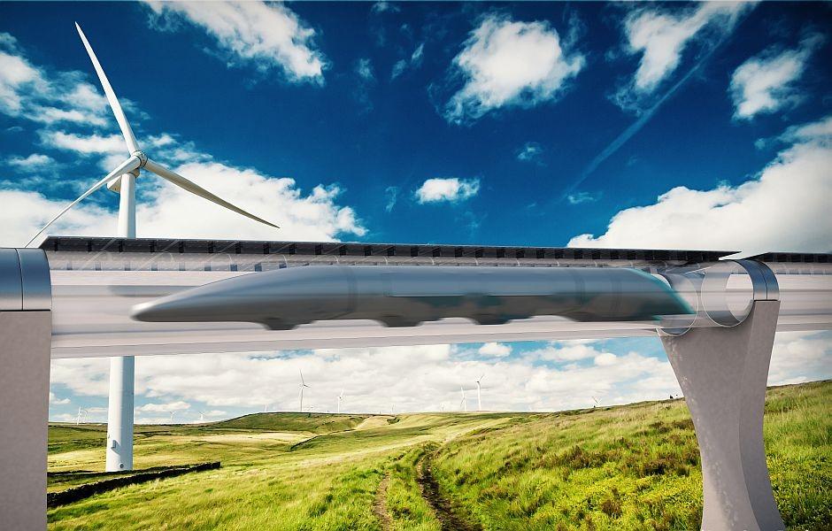 FOTO: Hyperloop Transportation Technologies