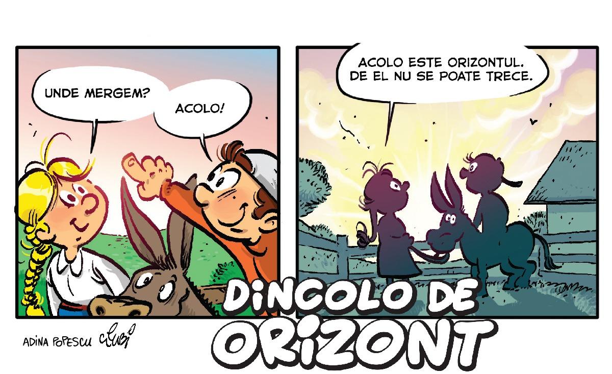carte de benzi desenate dincolo de orizont