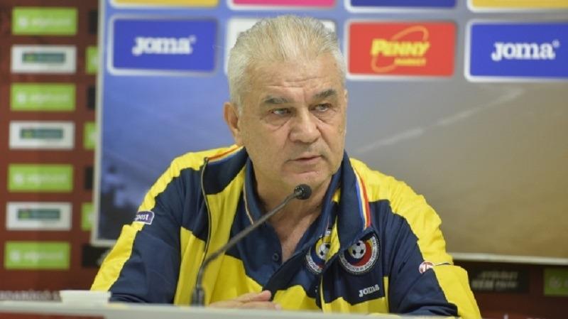 Anghel Iordănescu, antrenorul naționalei de fotbal a României (frf.ro)