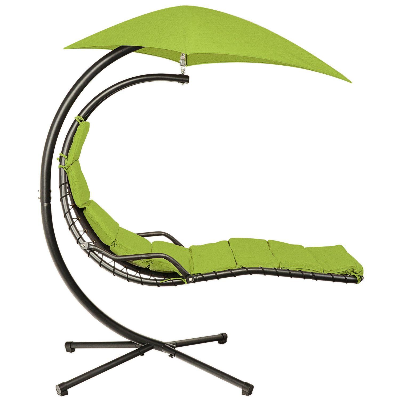 Un leagăn - balansoar este ideal pentru cei care vor să se relaxeze într-o zi de vară (emag.ro)