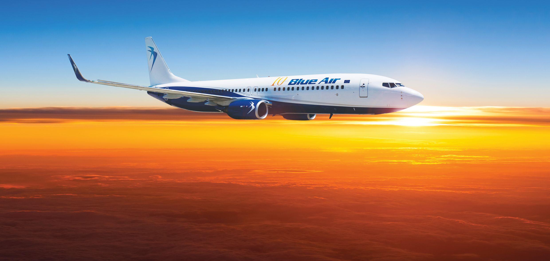FOTO: Blue Air cele mai ieftine zboruri