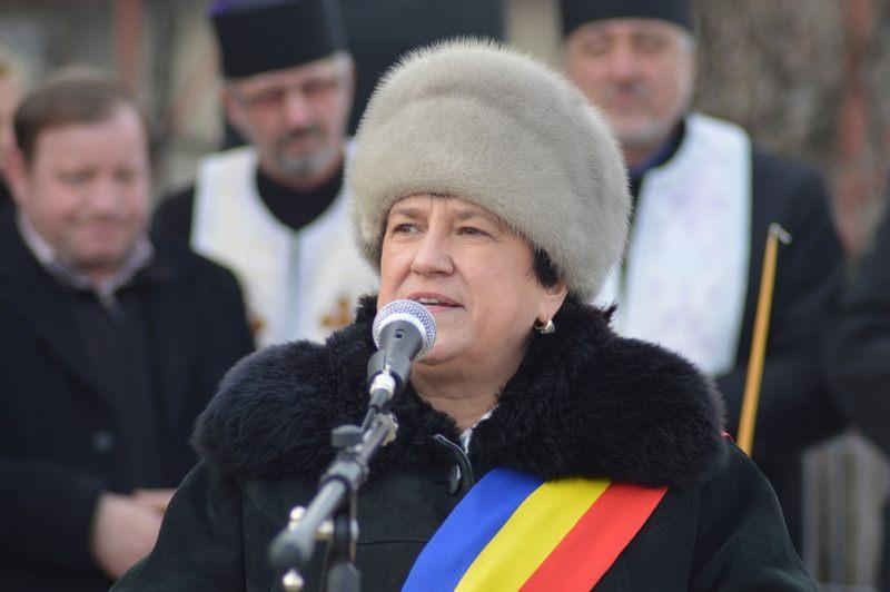 Maria Cojocariu, primarul din Dolhasca, judeţul Suceava (crainou.ro)