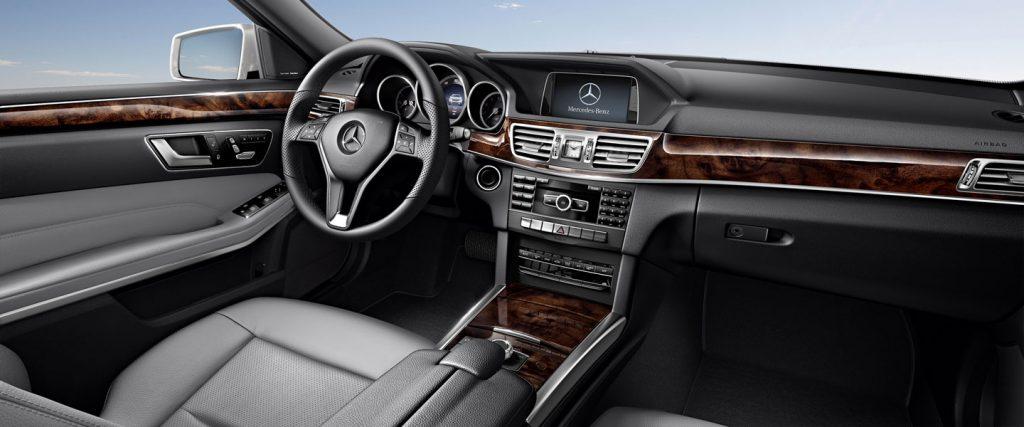 Astfel arată interiorul unui Mercedes E350 4matic